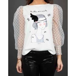 Anabel-Lee-Flapper-Camiseta