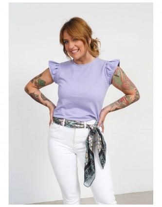 camiseta básica keep lovers lila