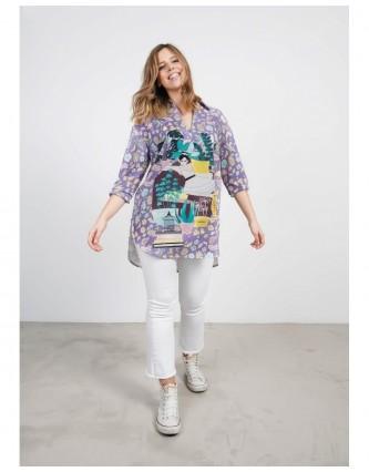 blusa amarte lila keep & trendy